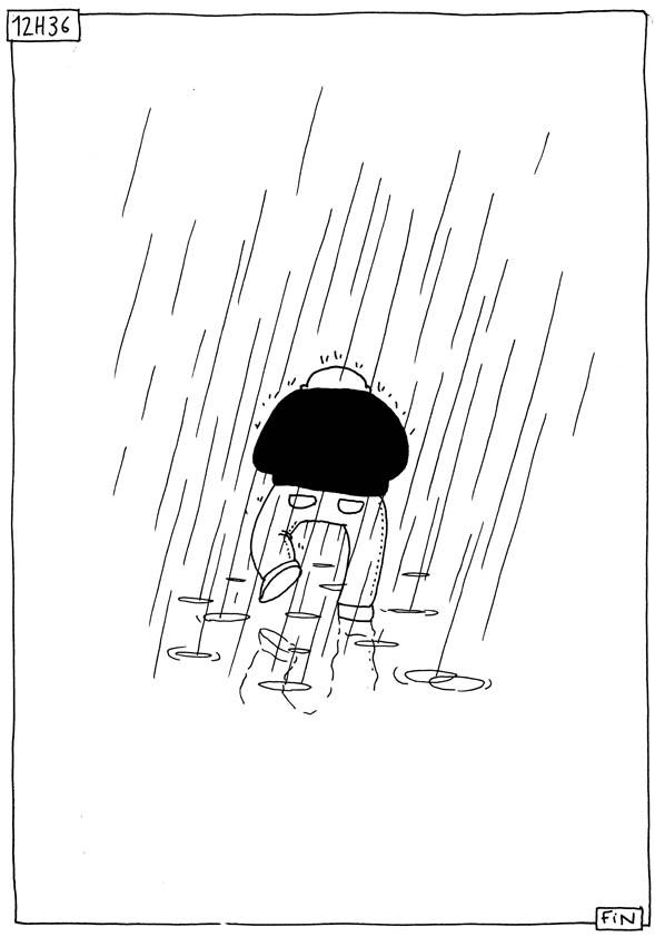 Le son de la pluie